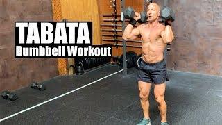 Full Body TABATA Dumbbell Workout