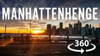 Manhattanhenge 2016 - 360 Video