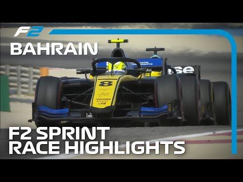 Formula 2 Sprint Race Highlights | 2019 Bahrain Grand Prix