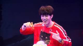 胡宇威享受生日音樂會 第一次唱歌
