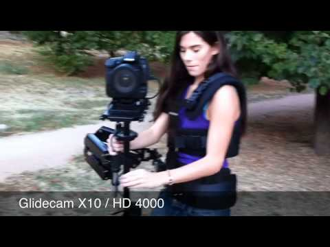 Glidecam X10 / HD 4000