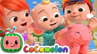 Piggy Bank Song | CoCoMelon Nursery Rhymes & Kids Songs