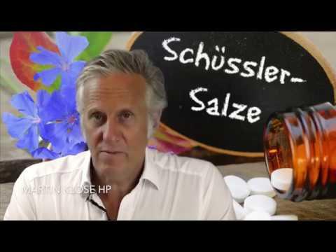 Schüsslersalze, Biochemie nach Dr.  Schüssler │Allgemein Verfahren der Naturheilkunde