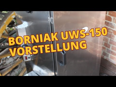 Borniak UWS 150 - Vorstellung (Deutsch) - Elektrosmoker / Räucherofen