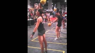 2014 IUKL World Cup Las Vegas 16kg Snatch - Sara Moore
