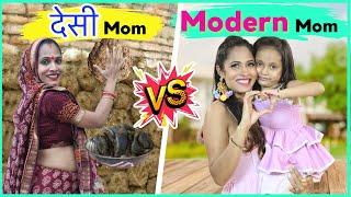 Desi Mom vs Modern Mom   ShrutiArjunAnand