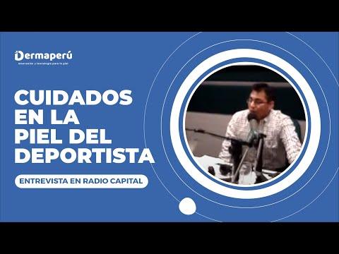 Entrevista Dr. Aparcana – Cuidados en la piel del deportista – Radio Capital (3)