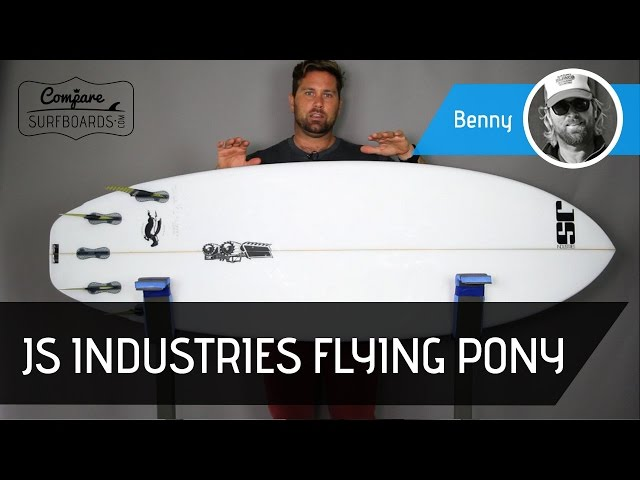 JS Industries Flying Pony Surfboard Review + FCS2 Stretch Quad Fins | Compare Surfboards