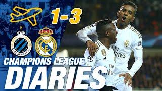 Champions League Diaries | Rodrygo & Vinicius Jr. shine against Brugge!