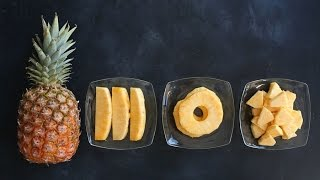 The Quick and Easy Way to Cut Pineapple - Kitchen Conundrums with Thomas Joseph