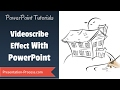 How To Create Videoscribe Effect In Powerpoint : Practical Animation Series