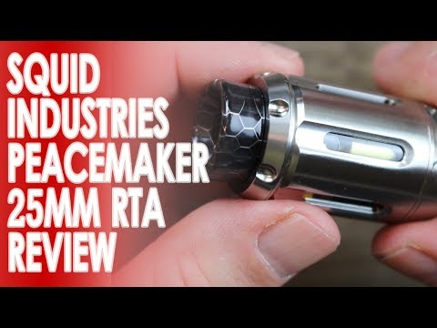 YouTube Video zu Squid Industries PeaceMaker Selbstwickelverdampfer 4 ml