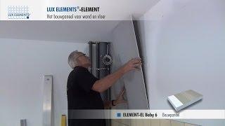 Bouwplaat Voor Badkamer : Lux elements montage bouwplaat element op metalen staanderwerk