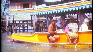 Thailand Bangkoks great river in 1974