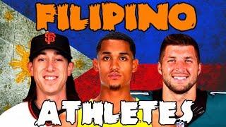 5 Surprising FILIPINO Athletes in American Sports