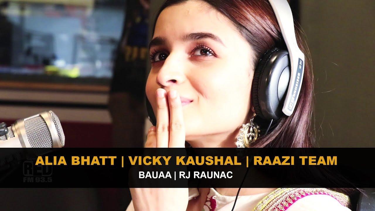 Alia Bhatt | Vicky Kaushal | Raazi Team