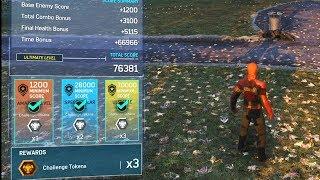 Combat Challenge Ultimate Level 76381 Total Score - Marvel