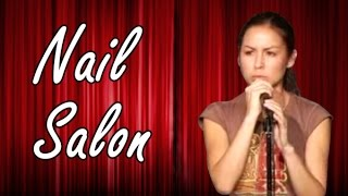 Anjelah Johnson - Nail Salon (Stand Up Comedy)