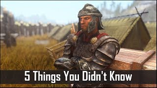 Skyrim: 5 Things You Probably Didn't Know You Could Do - The Elder Scrolls 5: Secrets (Part 4) - dooclip.me