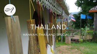 My travels in Thailand