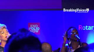 "Tessanne Chin ""Underneath it All"" at Rotary World Polio Day 2014"