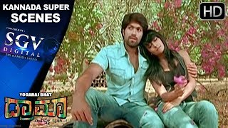 Radhika Pandiths Emotional Scene  Kannada Scenes  Rocking Star Yash