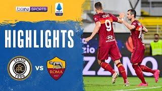 Spezia 2-2 Roma Pekan 38