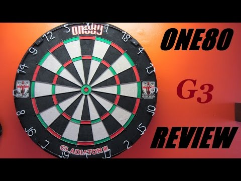 One80 Gladiator 3 Dart Board review