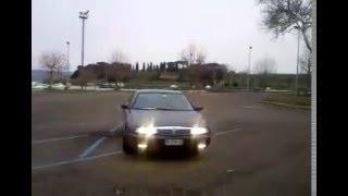 preview picture of video 'LANCIA K 2000 DRIVEN BY EMANUELE CARIOTI EMATUBE CORTONOTTE SCRAPANTE @ MARTA (VT) 13 12 2009'