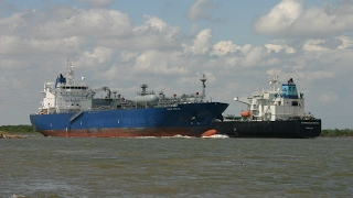 Shipspotting The Houston Ship Channel (Morgans Point, TX) 3-14-17