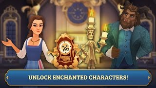 BEAUTY AND THE BEAST TIMELESS MATCH iOS Gameplay Trailer