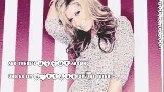 Ashley Tisdale-Me without you (Lyrics+deutsche Übersetzung)