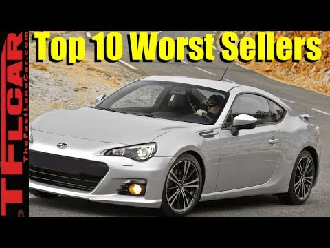 The Top 10 Worst Selling Affordable Cars Are....