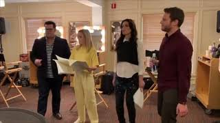Frozen 2 Cast Sing Some Things Never Change - Behind The Scenes Rehearsal