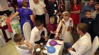 Весёлый конкурс на свадьбе. Ржака