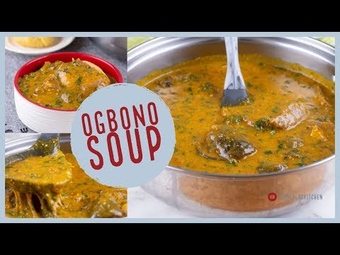 Easy and tasty Ogbono soup – No frying!