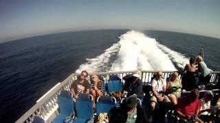 Timelapse Long Beach to Catalina Island