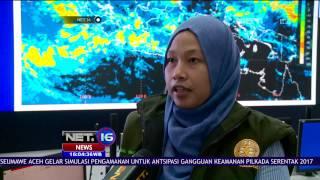 BMKG Cuaca Ekstrem Berlangsung Pada 1320 November 2016 Meliputi Sumatera Dan Jawa  NET 16