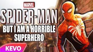 Spiderman but I am a horrible superhero