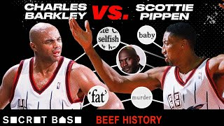 Scottie Pippen's beef with Charles Barkley is what happens when you don't listen to Michael Jordan thumbnail