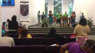 "Genesis @ Christ Temple singing Anita Wilson ""More of You"""