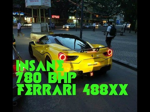 Ferrari 488 XX Mind Blowing Reactions Noob WagonR Driver Supercars In Bangalore