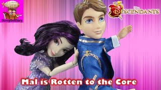 Mal is Rotten to the Core - Part 1- Rotten To the Core Descendants Disney