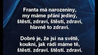 Jaroslav Uhlíř, Zdeněk Svěrák - Narozeninová (karaoke z www.karaoke-zabava.cz)