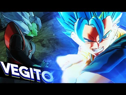 SSGSS VEGITO IS AMAZING!! Dragon Ball Xenoverse 2 SSGSS Vegito Blue Gameplay DLC Pack 4