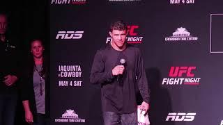 UFC Ottawa: Al Iaquinta Pre-Fight Q&A