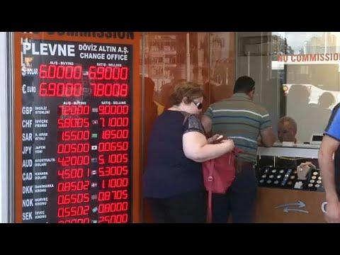 H τουρκική λίρα «πιέζει» την παγκόσμια οικονομία