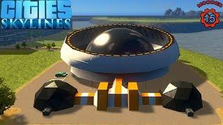 Cities: Skylines | Mega Power Generator !!! (Episode-15)