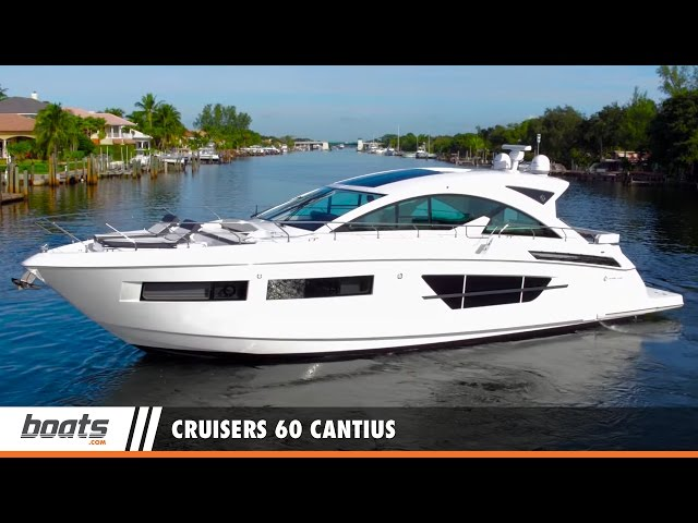 2016 Cruisers 60 Cantius: Video Boat Review