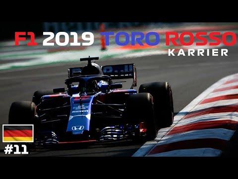 ELŐRELÉPTÜNK! 🏁 F1® 2019 Toro Rosso Honda KARRIER 💣💥 11.futam: NÉMETORSZÁG-HOCKENHEIM